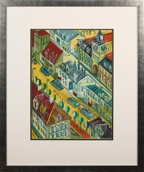 Obraz do salonu artysty Edward Dwurnik pod tytułem Chojna