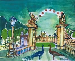 Obraz do salonu artysty Edward Dwurnik pod tytułem Wilanów