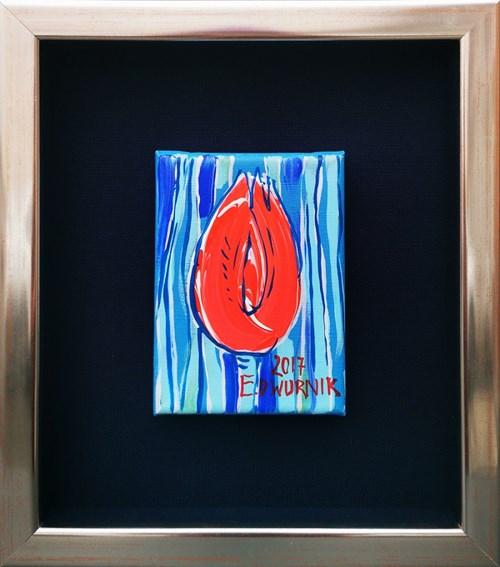 Obraz do salonu artysty Edward Dwurnik pod tytułem Tulipan
