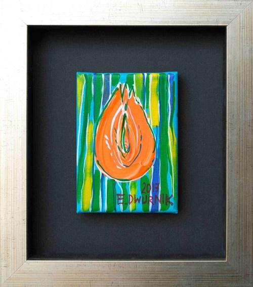 Obraz do salonu artysty Edward Dwurnik pod tytułem Czerwony tulipan