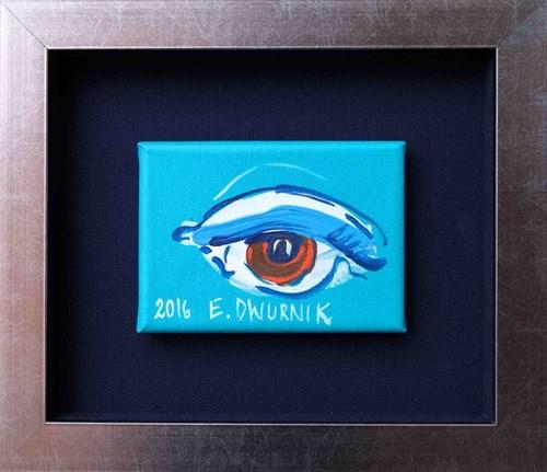 Obraz do salonu artysty Edward Dwurnik pod tytułem Oko II