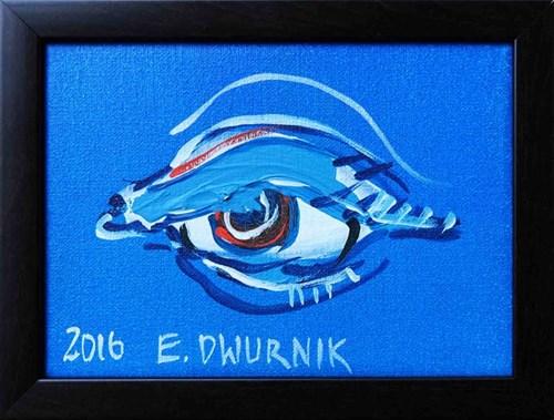 Obraz do salonu artysty Edward Dwurnik pod tytułem Oko III