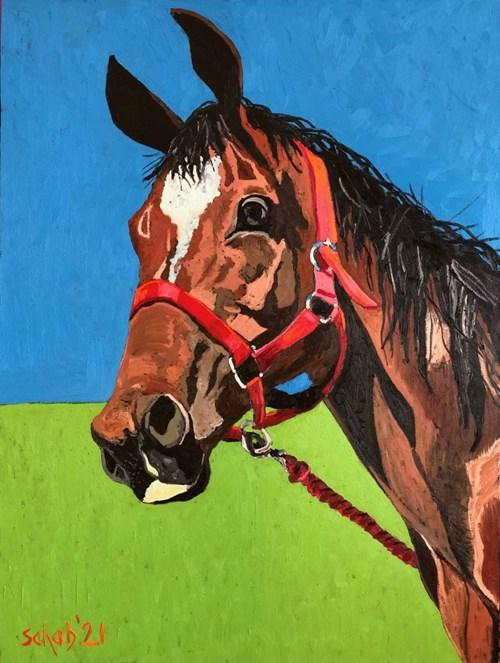 Obraz do salonu artysty David Schab pod tytułem Champion