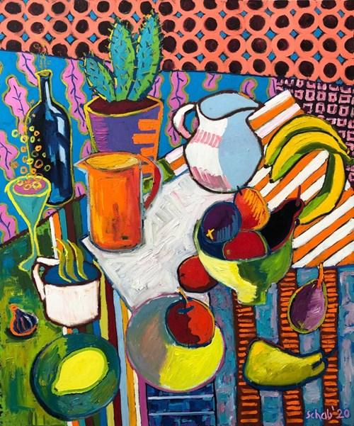 Obraz do salonu artysty David Schab pod tytułem Cocktail