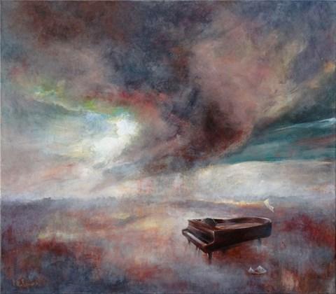 Obraz do salonu artysty Katarzyna Kałdowska pod tytułem Etiuda c-moll op.10 nr 12