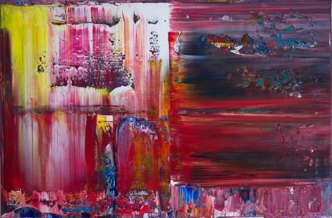 Obraz do salonu artysty Dominik Smolik pod tytułem Luminance XII