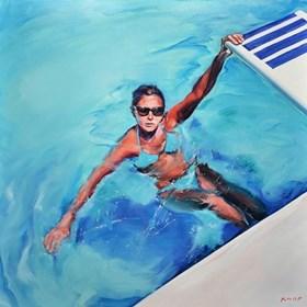 "Madame AE 03 z cyklu ""Swimming Pool"""