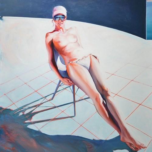 Obraz do salonu artysty Rafał Knop pod tytułem Madame Ev XXIII