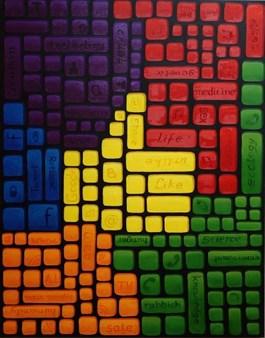 Obraz do salonu artysty Anna Stawowczyk pod tytułem Różnorodność, like or unlike