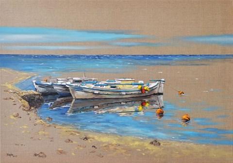Obraz do salonu artysty Magdalena Kępka pod tytułem W greckim słońcu