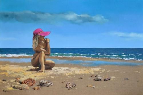 Obraz do salonu artysty Magdalena Kępka pod tytułem Dzień na Costa de la Luz