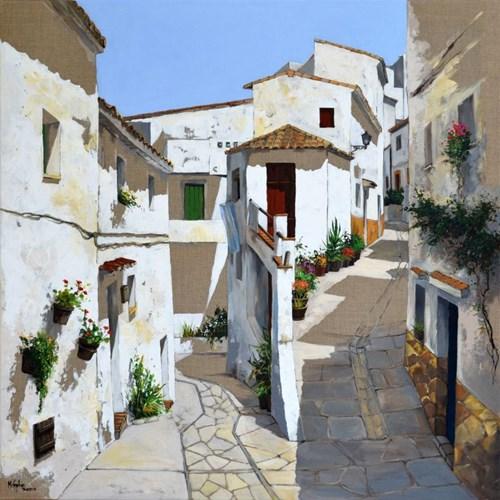Obraz do salonu artysty Magdalena Kępka pod tytułem Andaluzyjskie lato