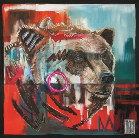Obraz do salonu artysty Wojciech Brewka pod tytułem Ursus Arctos
