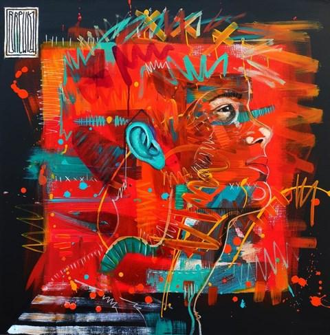 Obraz do salonu artysty Wojciech Brewka pod tytułem Generation X