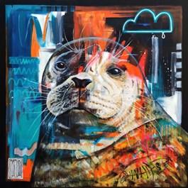 Obraz do salonu artysty Wojciech Brewka pod tytułem Hope