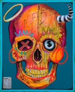 Obraz do salonu artysty Wojciech Brewka pod tytułem Sinner