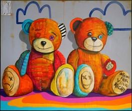 Obraz do salonu artysty Wojciech Brewka pod tytułem Fight for Your Rights