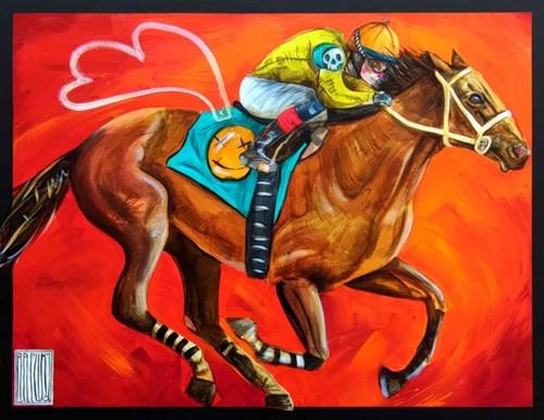 Obraz do salonu artysty Wojciech Brewka pod tytułem Pegasus