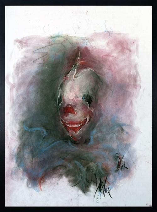 Obraz do salonu artysty Bożena Wahl pod tytułem Klaun