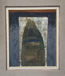 Obraz do salonu artysty Tomasz Lubaszka pod tytułem Ostra szara