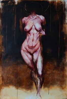 Obraz do salonu artysty Wojciech Pelc pod tytułem Narodziny Wenus 2