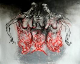 Obraz do salonu artysty Wojciech Pelc pod tytułem Siostry