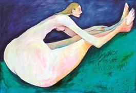 Obraz do salonu artysty Miro Biały pod tytułem Bardzo proste ćwiczenie