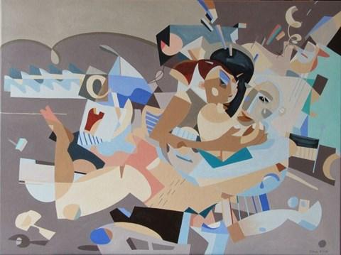 Obraz do salonu artysty Filip Gruszczyński pod tytułem Lodołamacz