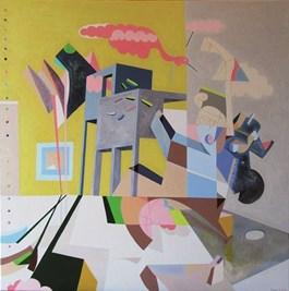 Obraz do salonu artysty Filip Gruszczyński pod tytułem Amphibius marginata