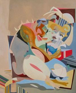Obraz do salonu artysty Filip Gruszczyński pod tytułem Bies i róża