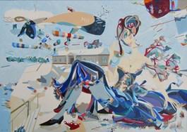 Obraz do salonu artysty Filip Gruszczyński pod tytułem Hiems Alacritas