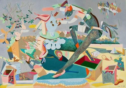 Obraz do salonu artysty Filip Gruszczyński pod tytułem Malesuada sonar