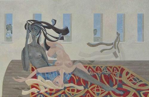 Obraz do salonu artysty Filip Gruszczyński pod tytułem Maya Nativitate Est Scriptor