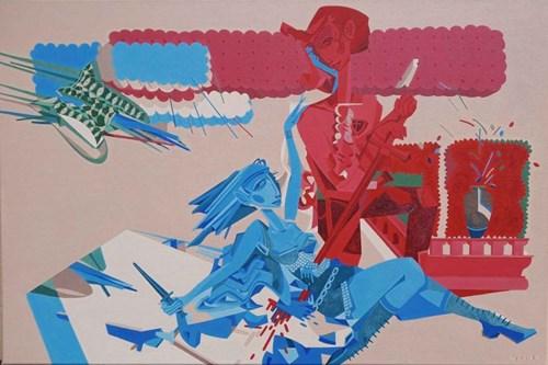 Obraz do salonu artysty Filip Gruszczyński pod tytułem Spawn Game