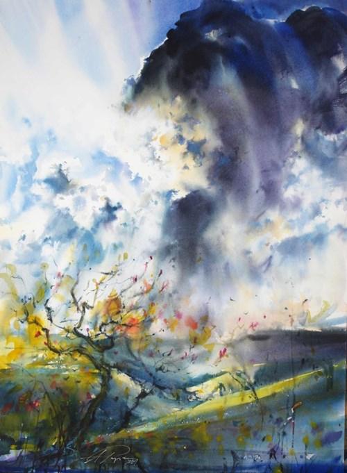 Obraz do salonu artysty Adam Papke pod tytułem Autumn variations