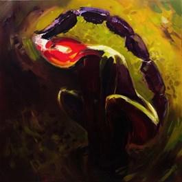 Obraz do salonu artysty Beata Musiał-Tomaszewska pod tytułem Skorpion i żaba