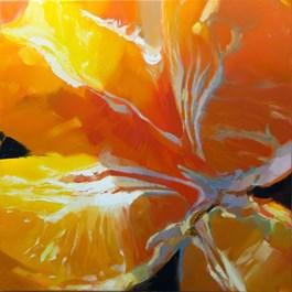 Obraz do salonu artysty Beata Musiał-Tomaszewska pod tytułem Orange Soul