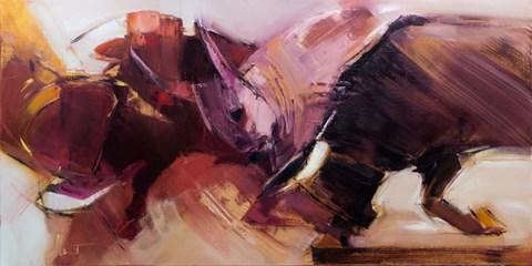 Obraz do salonu artysty Beata Musiał-Tomaszewska pod tytułem Lascaux