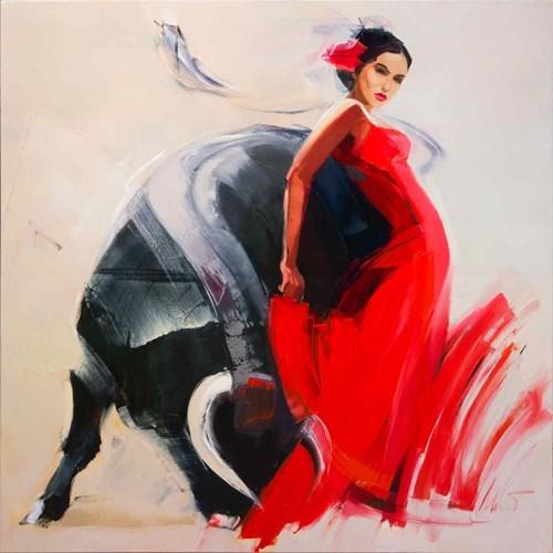 Obraz do salonu artysty Beata Musiał-Tomaszewska pod tytułem Nieustanne Tango