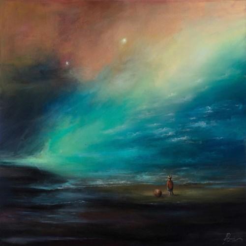Obraz do salonu artysty Agata Buczek pod tytułem Potęga oceanu