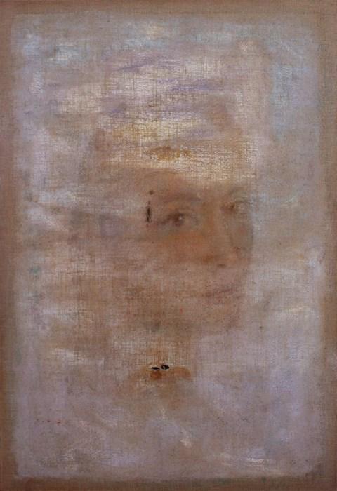 Obraz do salonu artysty Piotr Trusik pod tytułem Portret pomiędzy wierszami