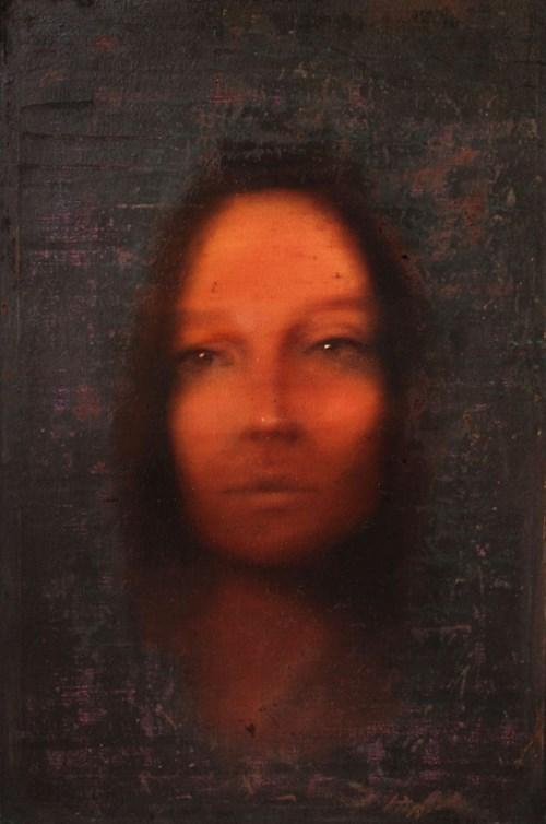 Obraz do salonu artysty Piotr Trusik pod tytułem Portret efemeryczny
