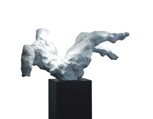 Rzeźba do salonu artysty Tomasz Koclęga pod tytułem Rebus Amet