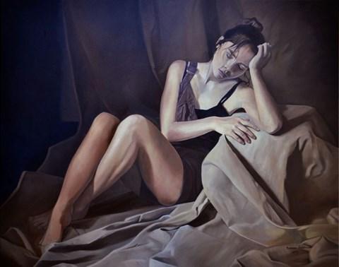 Obraz do salonu artysty Mateusz Dolatowski pod tytułem To Maroon