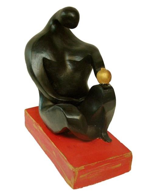 Rzeźba do salonu artysty Wiesław Fijałkowski pod tytułem Adam