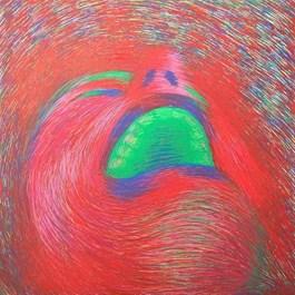 Obraz do salonu artysty Viola Tycz pod tytułem Krzyk Muncha