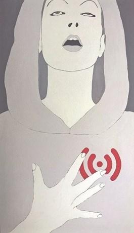 Obraz do salonu artysty Viola Tycz pod tytułem Wiekszy zasięg