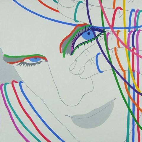 Obraz do salonu artysty Viola Tycz pod tytułem Rozłączony 2