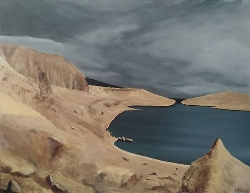 Obraz do salonu artysty Hugo Giza pod tytułem Pag - Beritnica