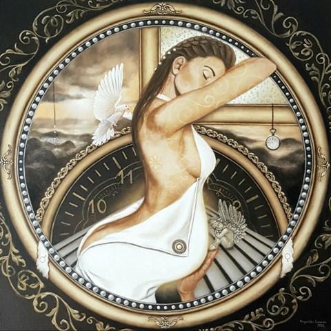 Obraz do salonu artysty Monika Krzymińska-Śluborska pod tytułem Czas ukojenia